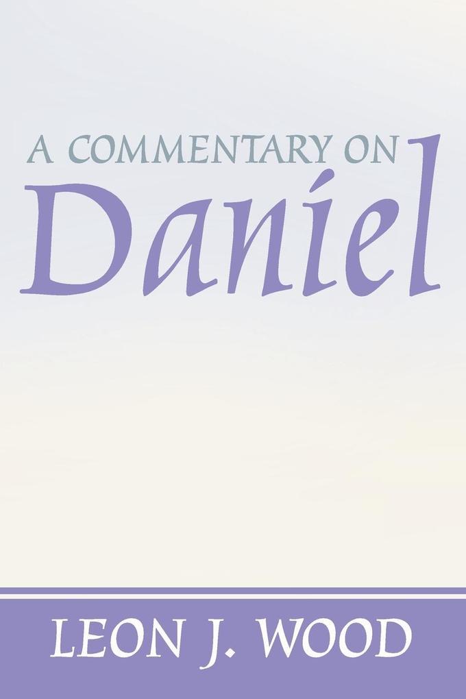 A Commentary on Daniel als Taschenbuch