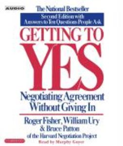 Getting to Yes: How to Negotiate Agreement Without Giving in als Hörbuch CD