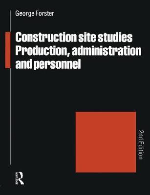 Construction Site Studies als Buch (kartoniert)