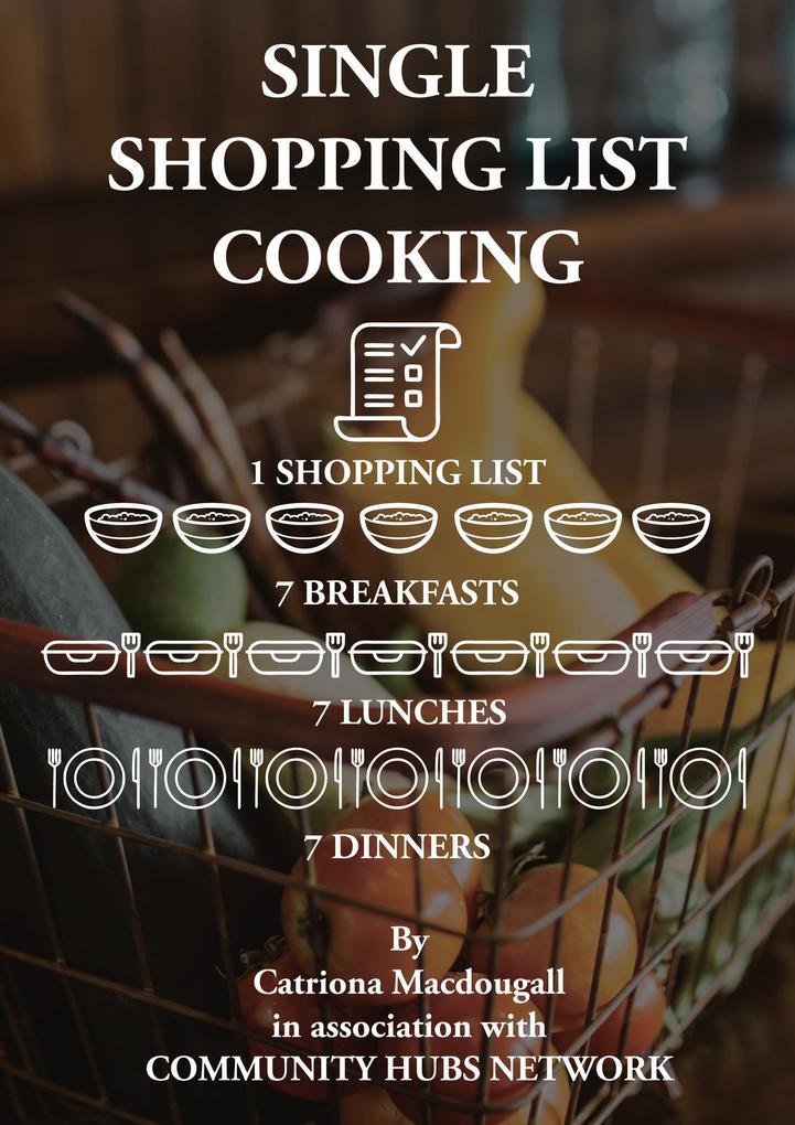 Single Shopping List Cooking als eBook von Catr...