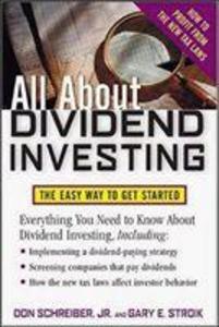 All About Dividend Investing als Taschenbuch