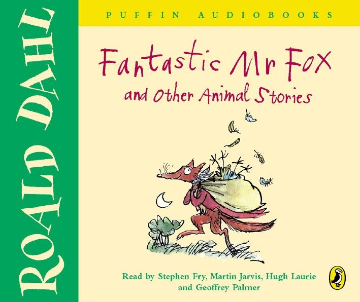 Fantastic Mr Fox and Other Animal Stories als Hörbuch CD