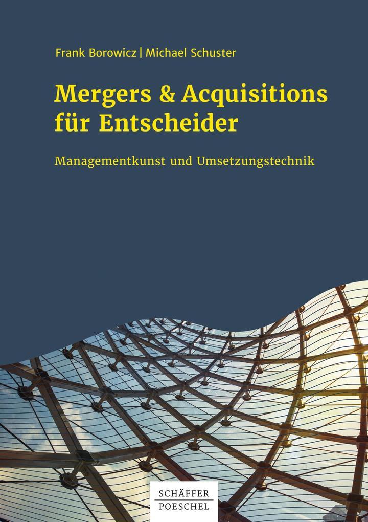 Mergers & Acquisitions für Entscheider als eBook