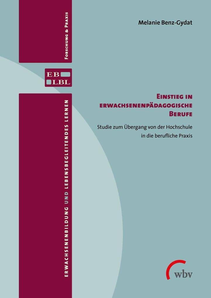 Einstieg in erwachsenenpädagogische Berufe als eBook pdf