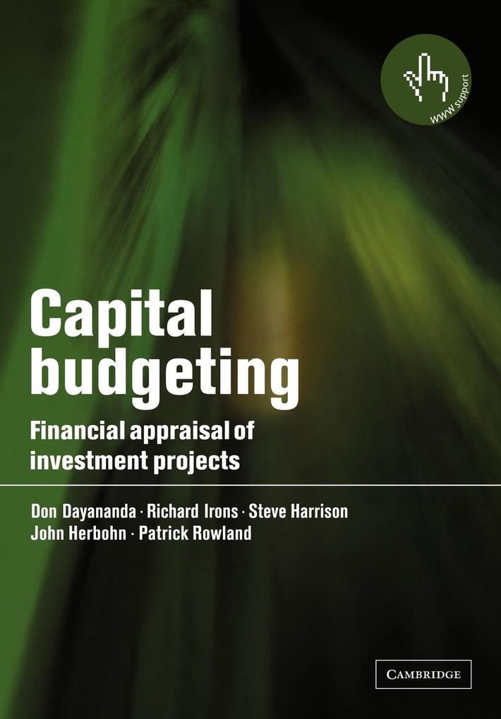 Capital Budgeting als Buch (kartoniert)