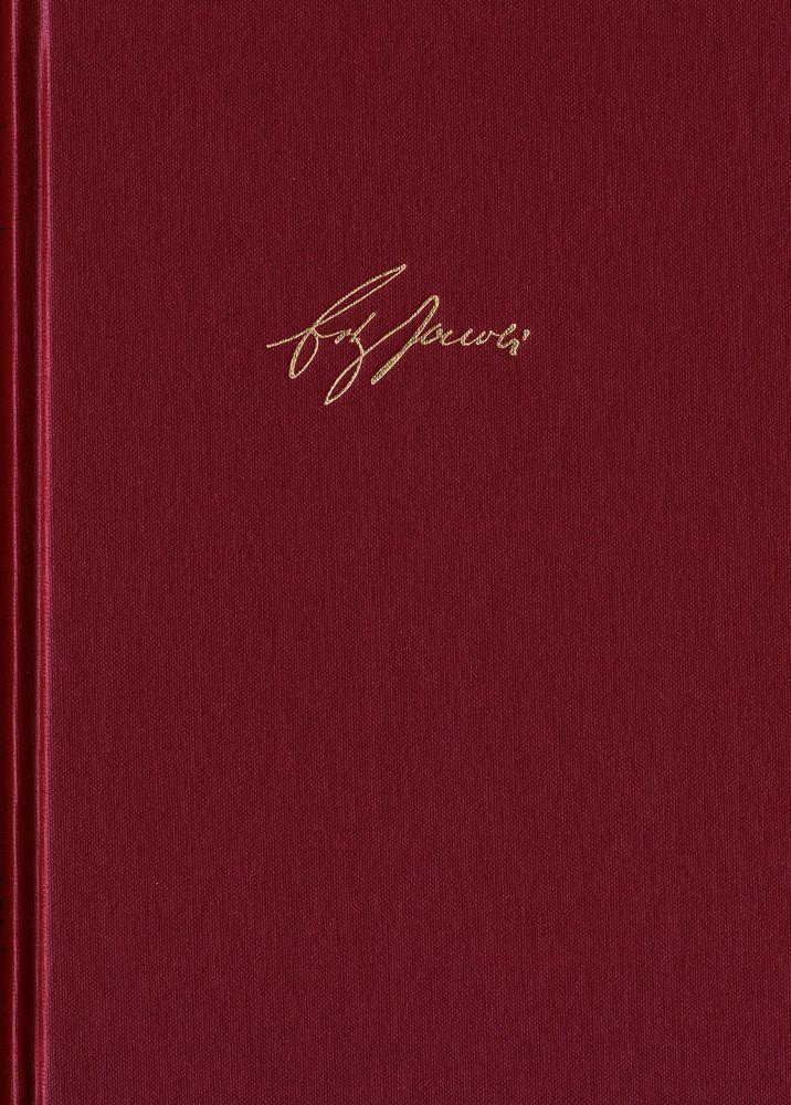 Friedrich Heinrich Jacobi: Briefwechsel - Nachlaß - Dokumente / Nachlaß. Reihe I: Text. Band 1-2 als Buch (gebunden)