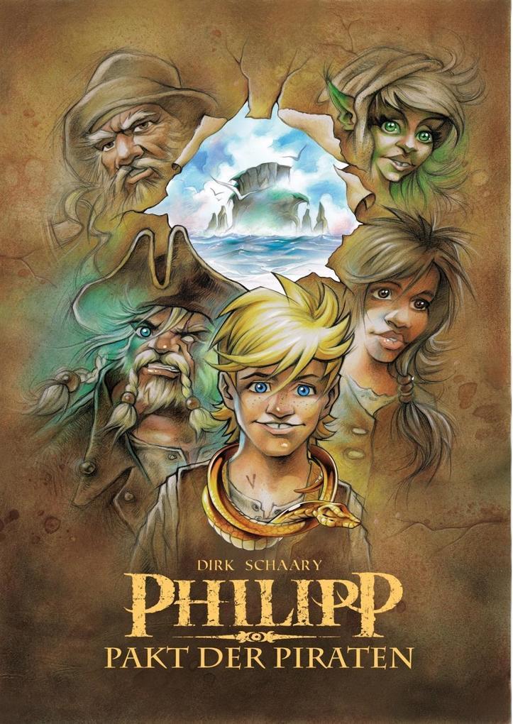 Philipp - Pakt der Piraten als Buch