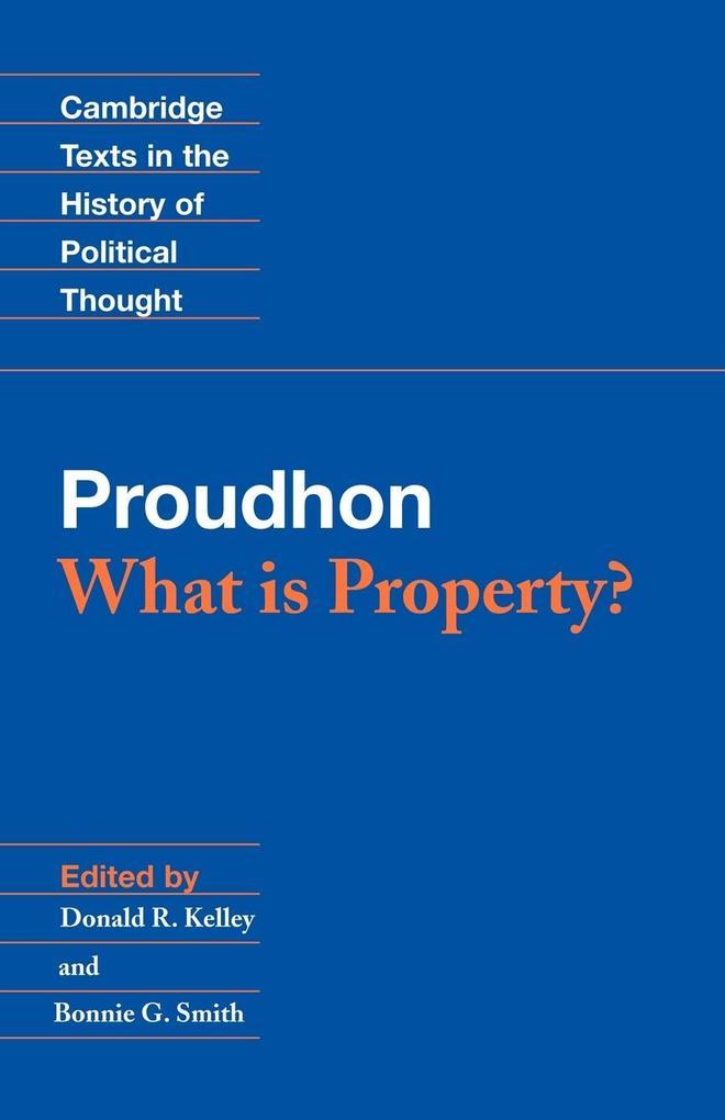 Proudhon als Buch (kartoniert)