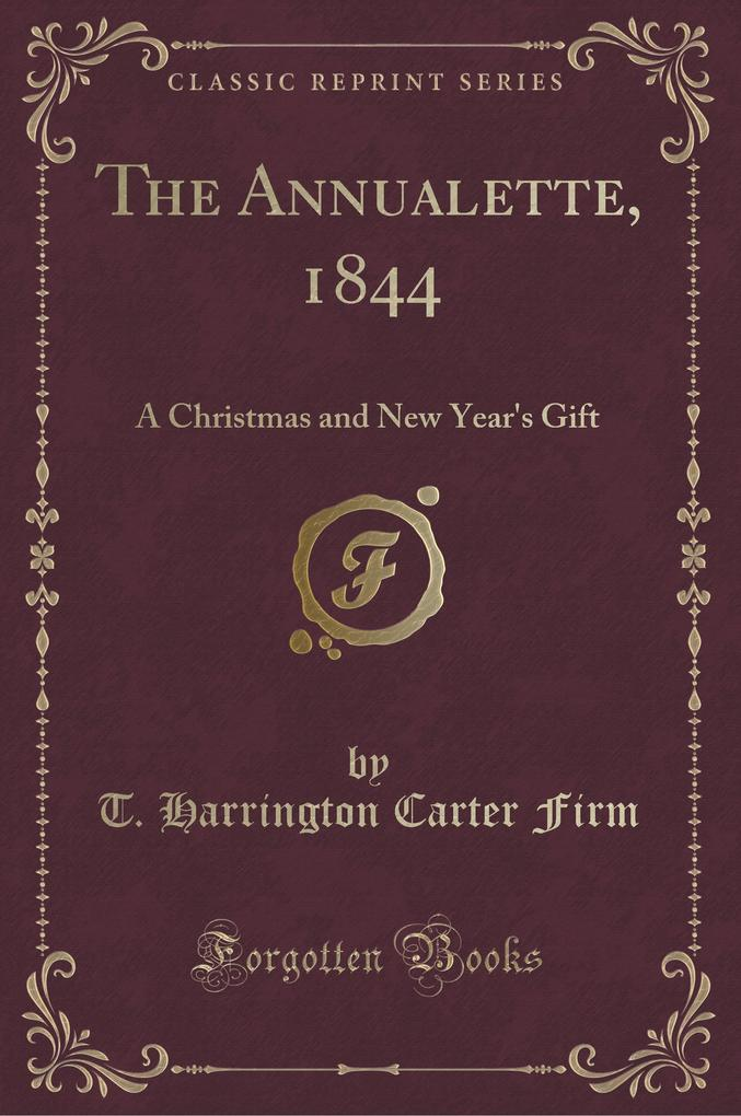 The Annualette, 1844
