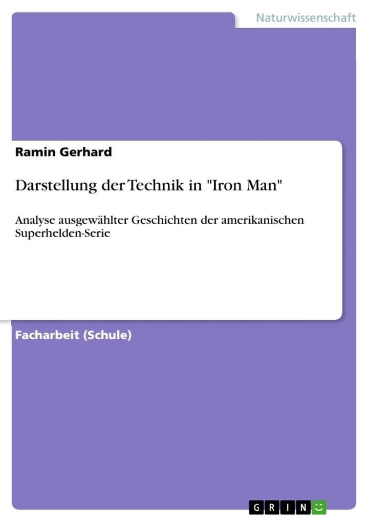 Darstellung der Technik in Iron Man