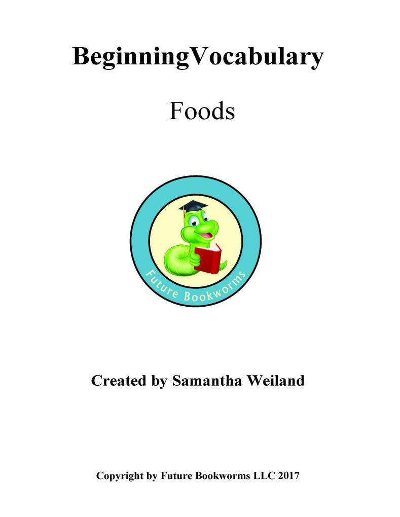 Beginning Vocabulary: Food als eBook von Samantha Weiland