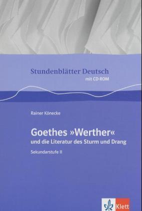 Stundenblätter Deutsch. Goethes Werther als Buch