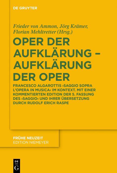 Oper der Aufklärung - Aufklärung der Oper als eBook pdf