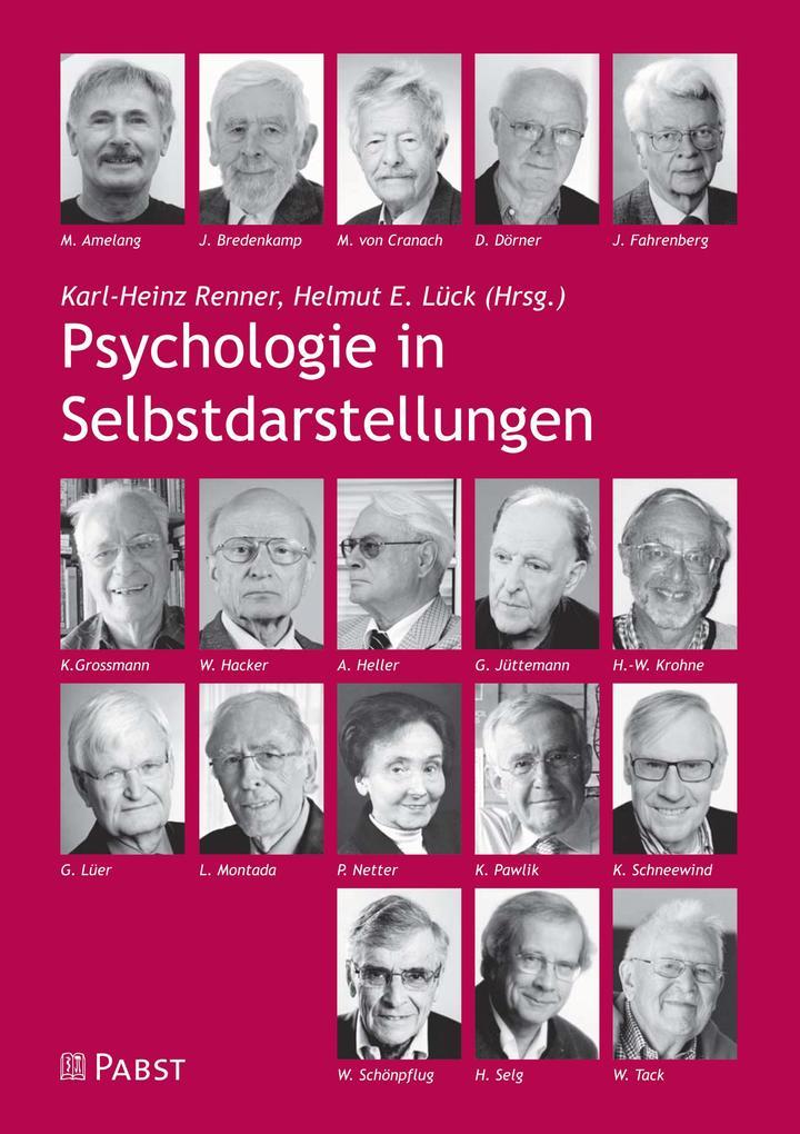 Psychologie in Selbstdarstellungen als eBook