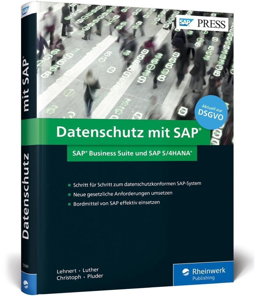 Datenschutz mit SAP als Buch von Volker Lehnert...