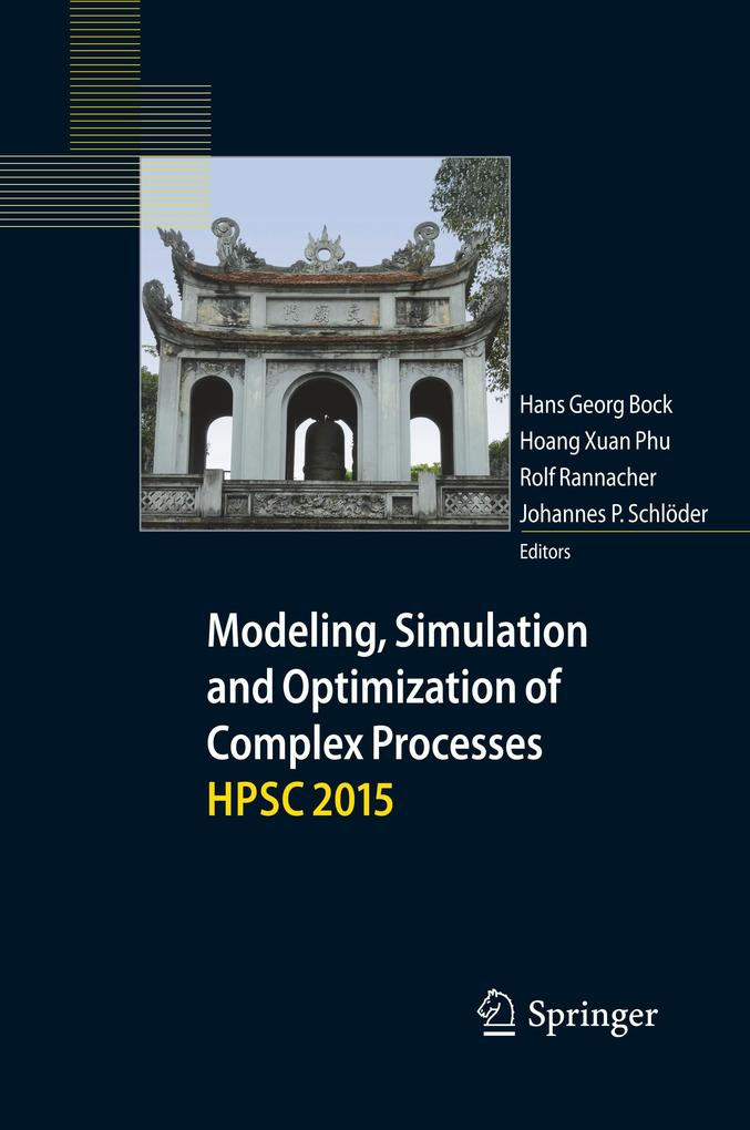 Modeling, Simulation and Optimization of Complex Processes HPSC 2015 als Buch