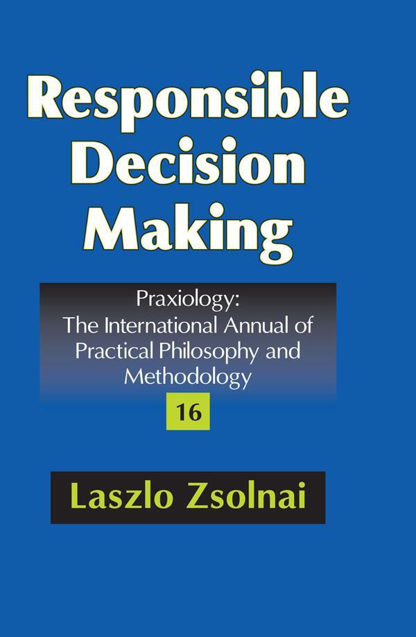 Responsible Decision Making als eBook von