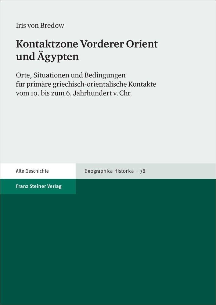 Kontaktzone Vorderer Orient und Ägypten als Buch (kartoniert)