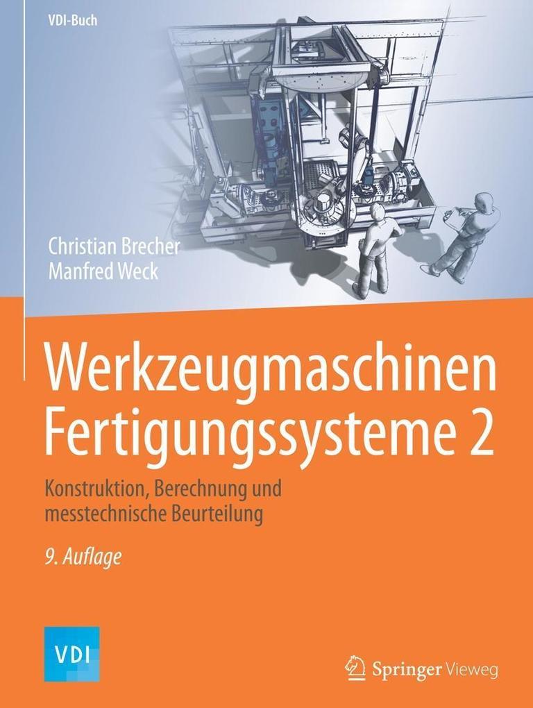 Werkzeugmaschinen Fertigungssysteme 2 als eBook