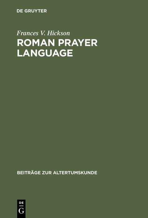 Roman Prayer Language als eBook