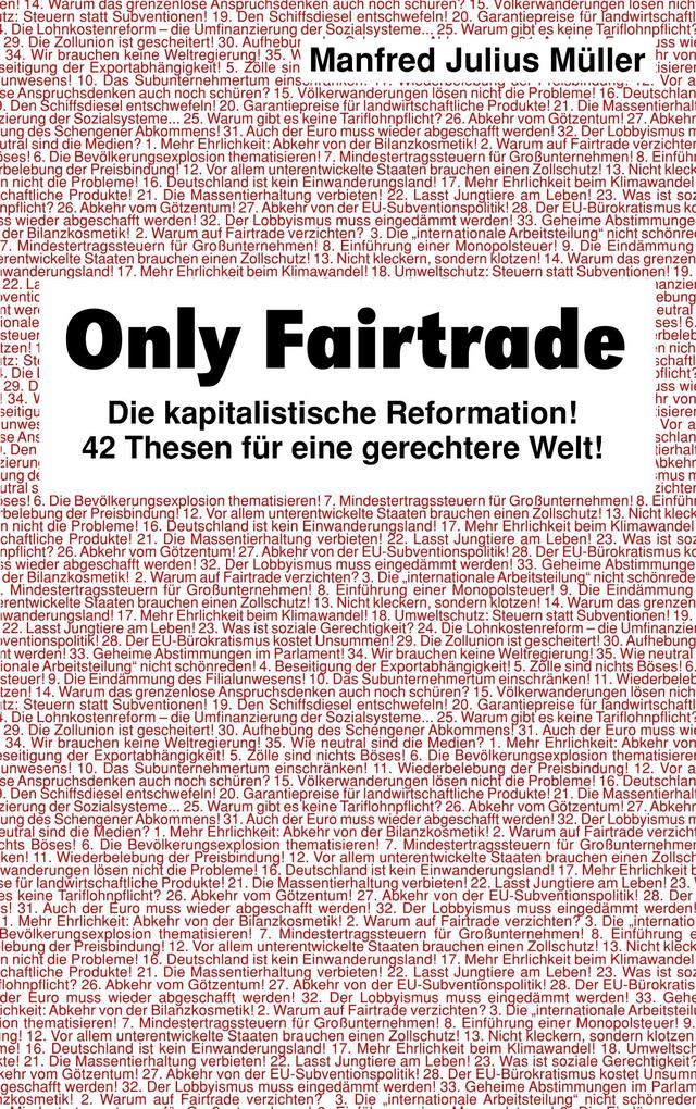 Only Fairtrade als Buch
