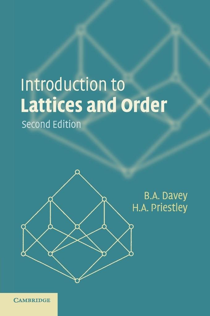 Introduction to Lattices and Order als Buch von B. A. Davey, H. A. Priestley