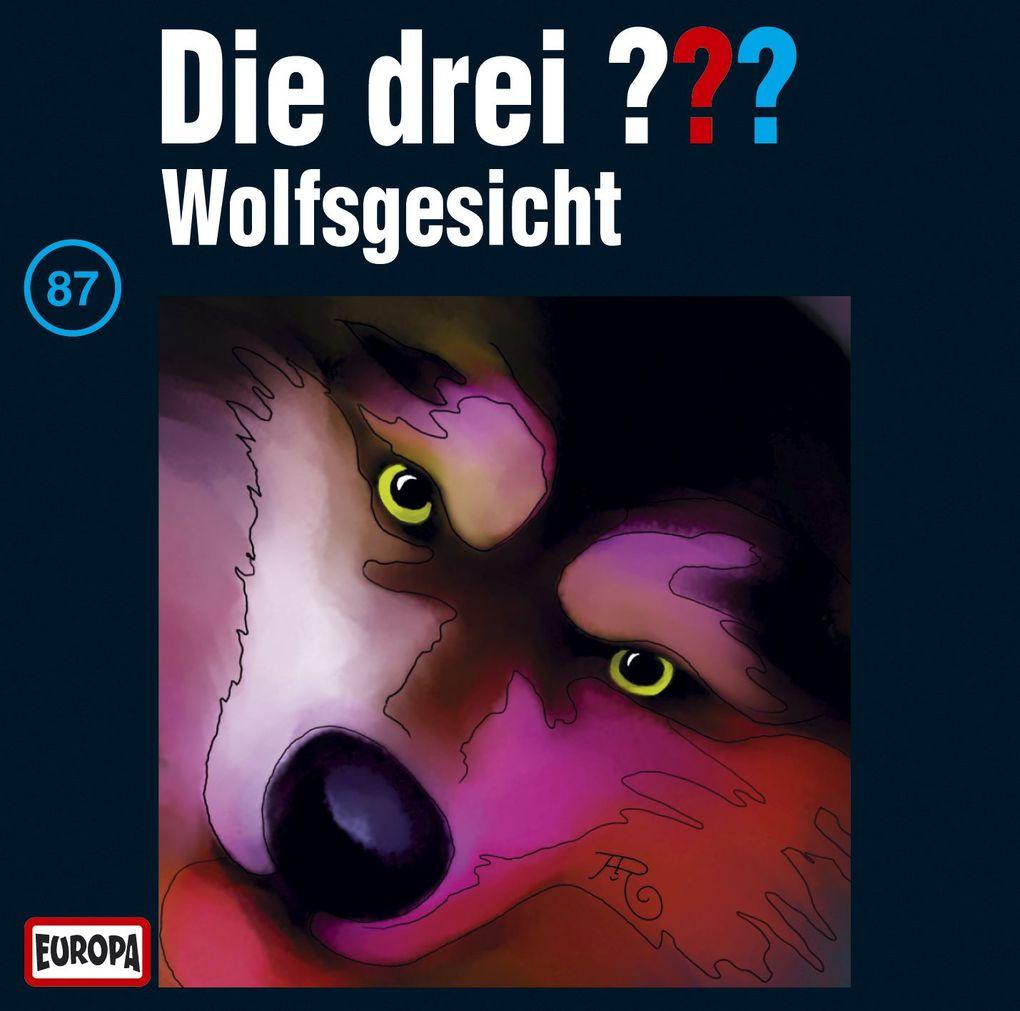 die drei  087 wolfsgesicht drei fragezeichen cd