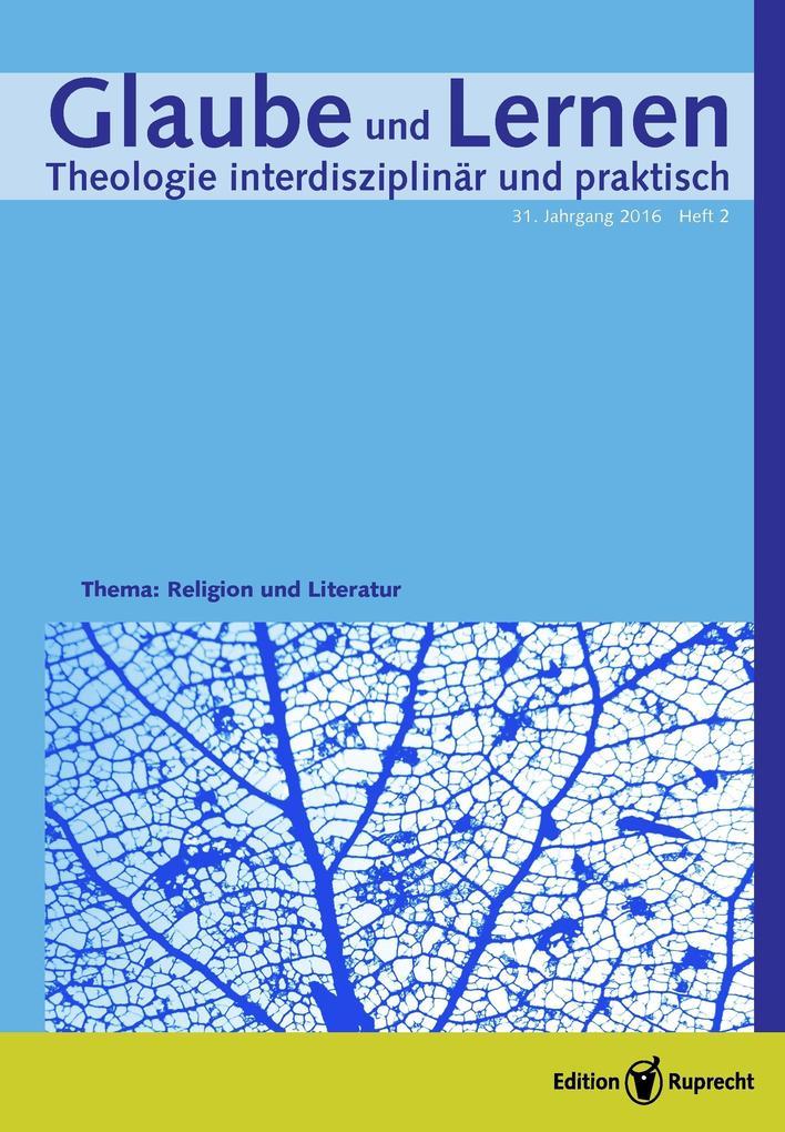 Themenheft »Religion und Literatur« als eBook