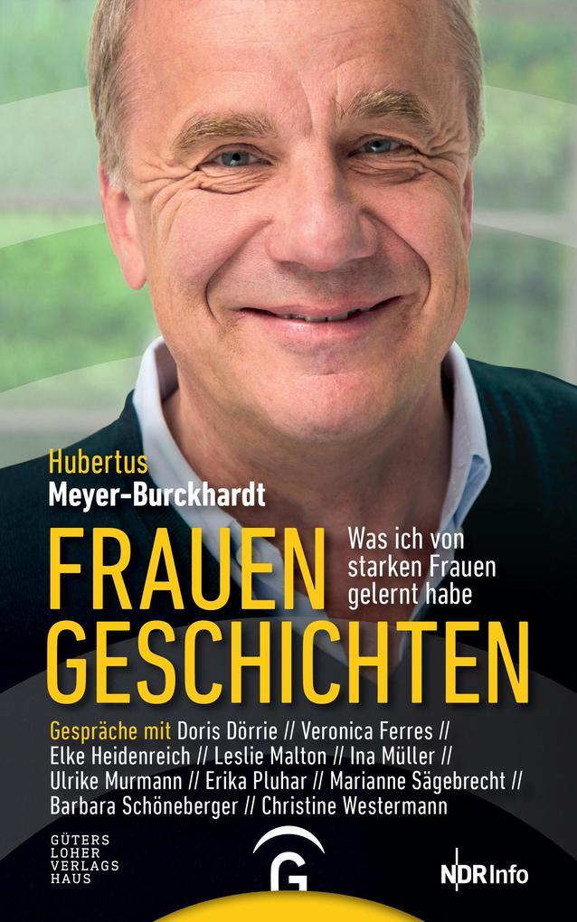 Frauengeschichten als Buch von Hubertus Meyer-Burckhardt