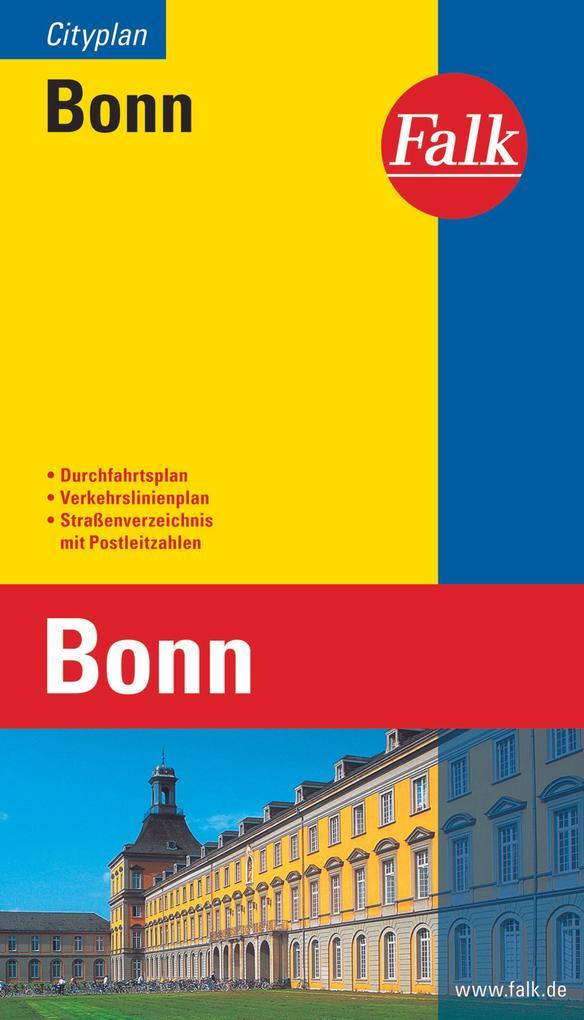 Falk Cityplan Bonn 1: 20 000 als Buch