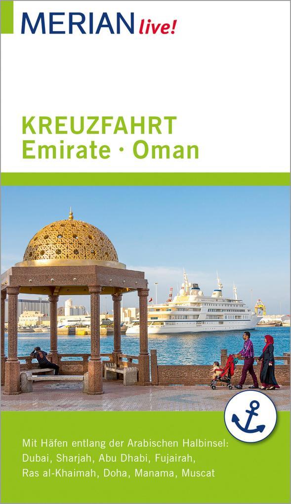 MERIAN live! Reiseführer Kreuzfahrt Emirate Oman als eBook