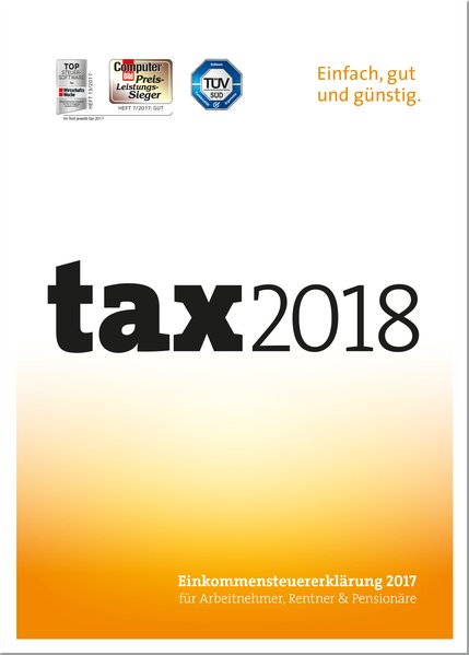 tax 2018 als Software