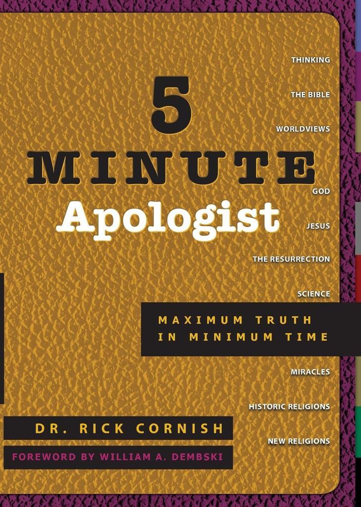 5 Minute Apologist als Taschenbuch