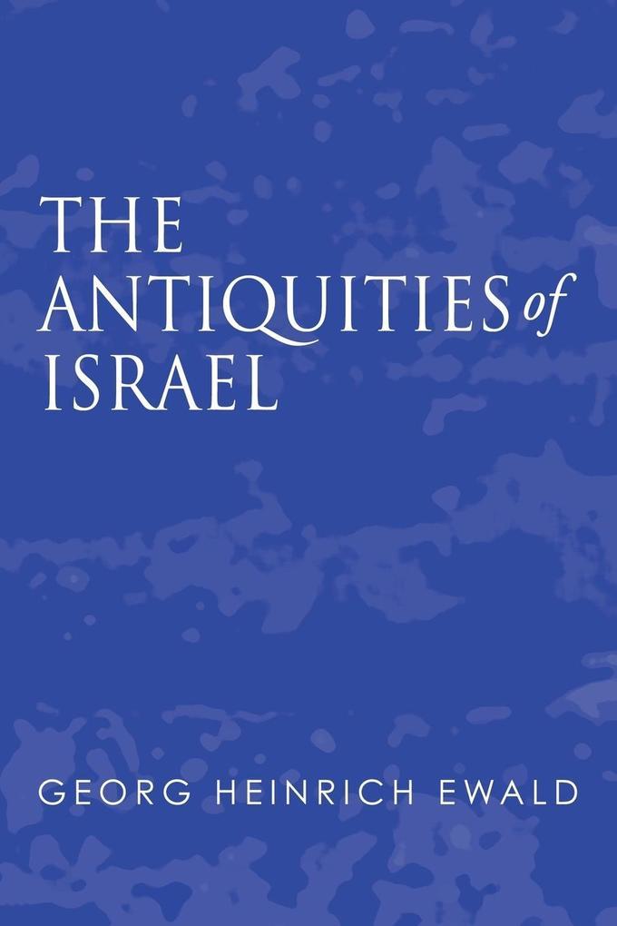 Antiquities of Israel als Taschenbuch
