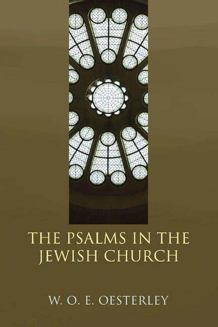 The Psalms in the Jewish Church als Taschenbuch