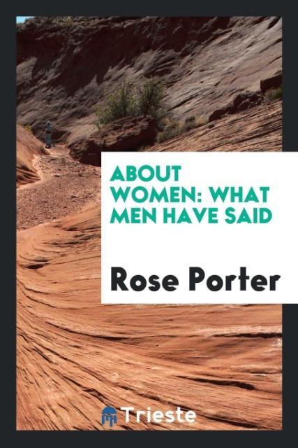 About Women als Taschenbuch von Rose Porter