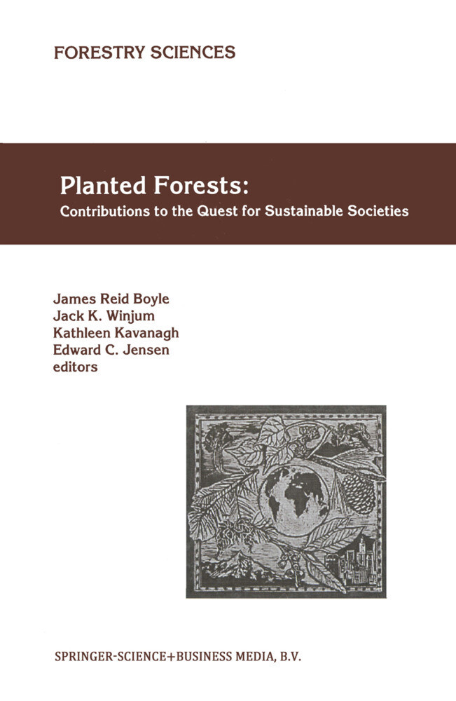 Planted Forests: Contributions to the Quest for Sustainable Societies als Buch (gebunden)