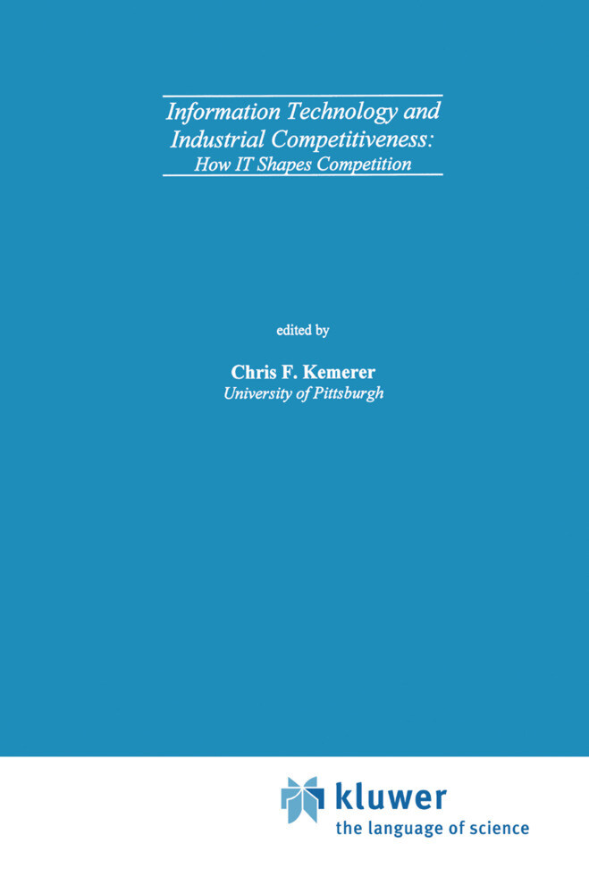 Information Technology and Industrial Competitiveness als Buch (gebunden)