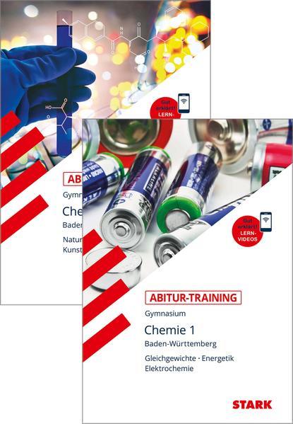 Abitur-Training - Chemie 1+2 Baden-Württemberg mit Videoanreicherung Vorteilspaket 84731V + 84732V als Buch