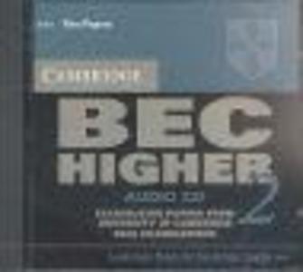 Cambridge BEC Higher 2 Audio CD als CD