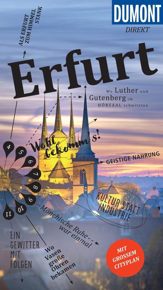 DuMont direkt Reiseführer Erfurt als eBook von ...