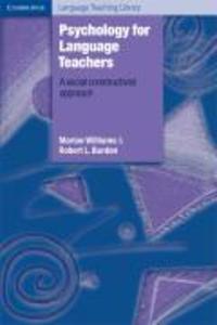 Psychology for Language Teachers als Buch (kartoniert)