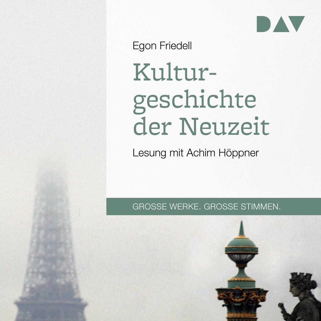 Kulturgeschichte der Neuzeit als Hörbuch Download