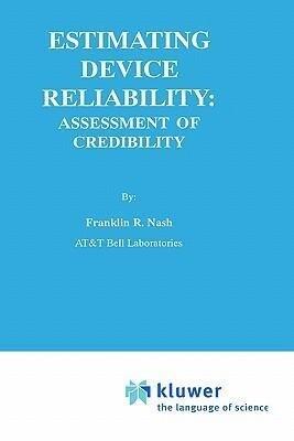 Estimating Device Reliability: als Buch (gebunden)