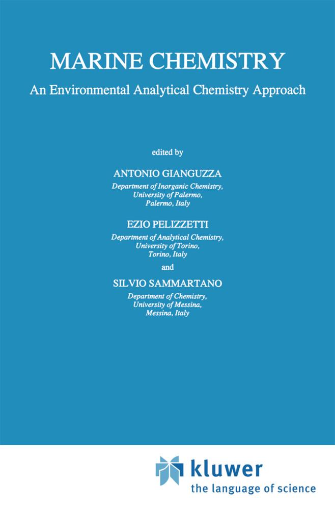 Marine Chemistry als Buch (gebunden)