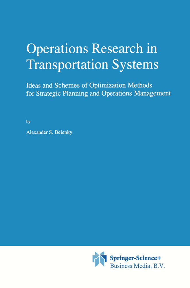Operations Research in Transportation Systems als Buch (gebunden)