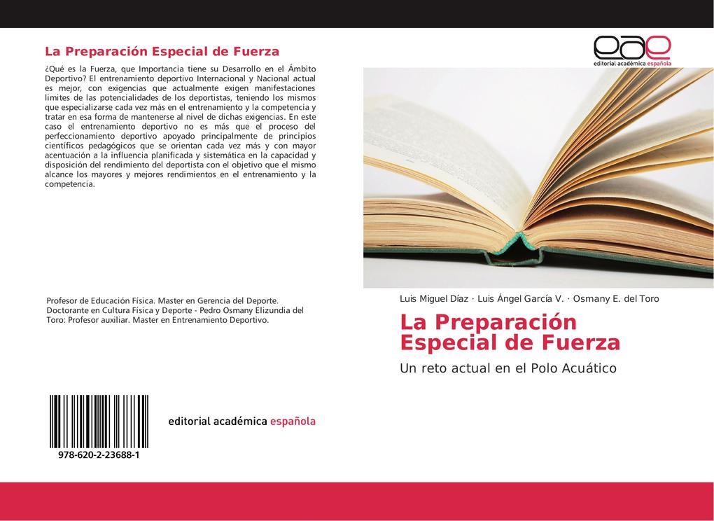 La Preparación Especial de Fuerza als Buch von Luis Miguel Díaz, Luis Ángel García V., Osmany E. del Toro - EAE