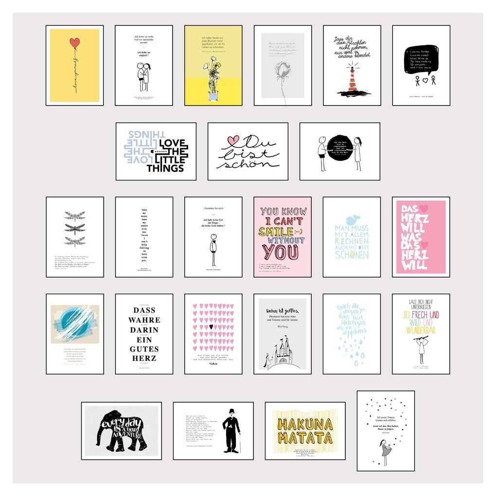 Stay inspired - Postkartensprüche 3 als Sonstiger Artikel