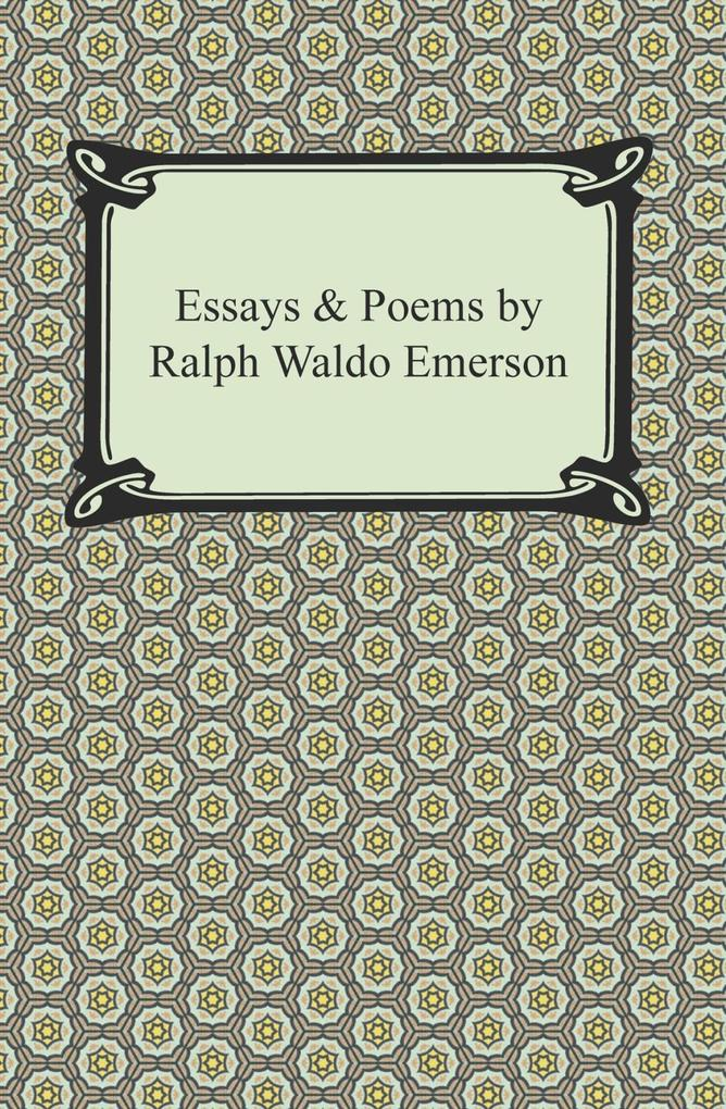 """ralph waldo essays The definitive collection of emerson's major speeches, essays, and poetry, the essential writings of ralph waldo emerson chronicles the life's work of a true """"american scholar"""" as one of the architects of the transcendentalist movement, emerson embraced a philosophy that championed the."""