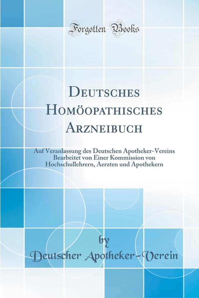 Deutsches Homöopathisches Arzneibuch